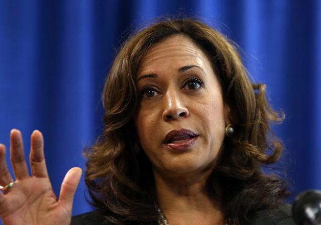 File pic - California Attorney General Kamala Harris
