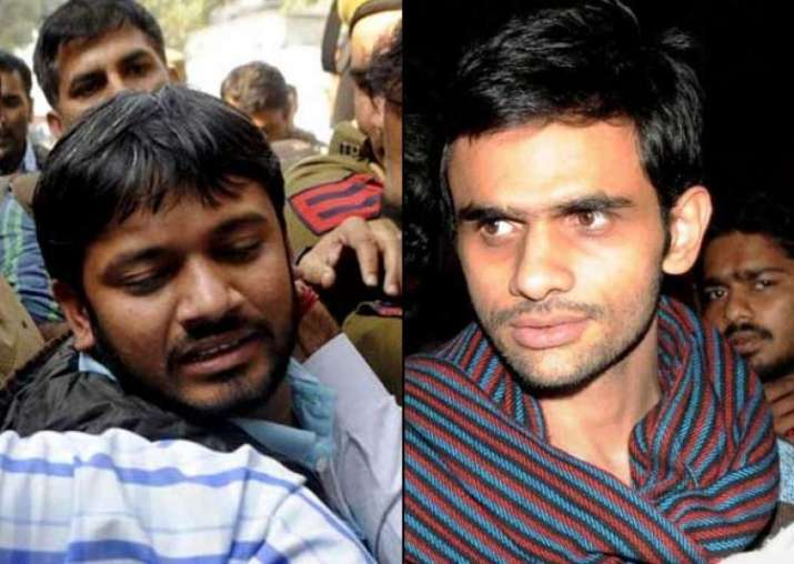 File Photo of Kanhaiya Kumar and Umar Khalid