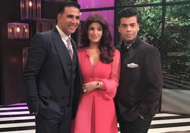 Karan, Twinkle and Akshay