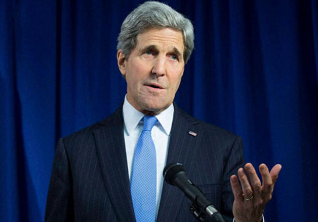 File pic - Secretary of State John Kerry