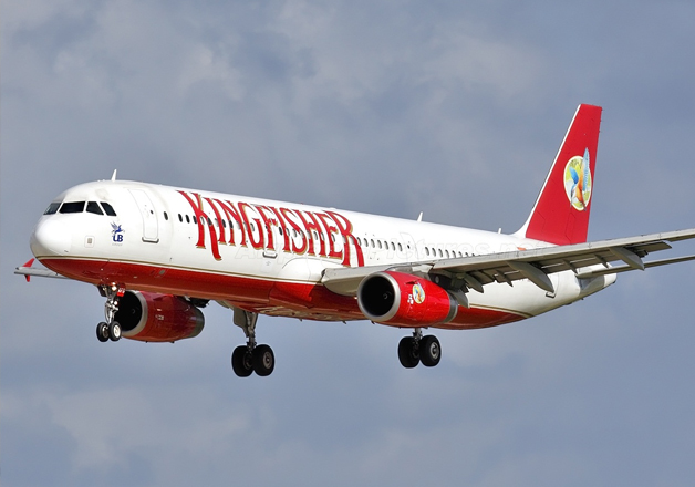 File pic of Kingfisher Airlines