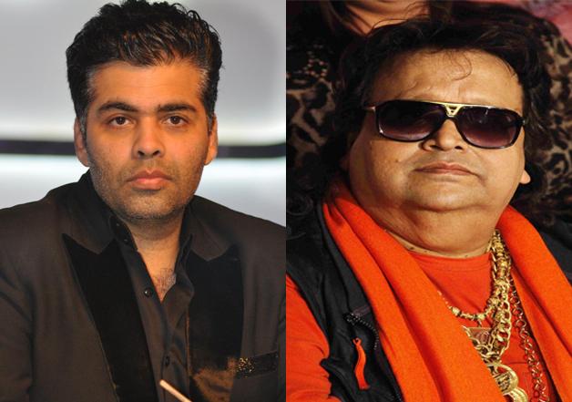 Bappi Da and son Bappa take offense over Karan Johar's