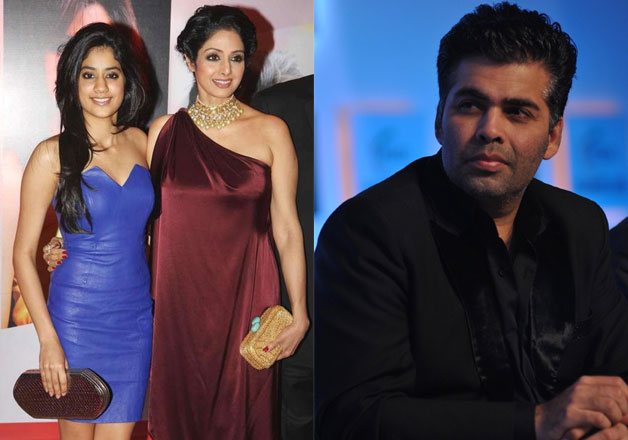 Confirmed! Karan Johar to launch Sridevi's daughter