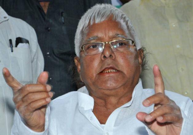 File pic - RJD supremo Lalu Prasad yadav