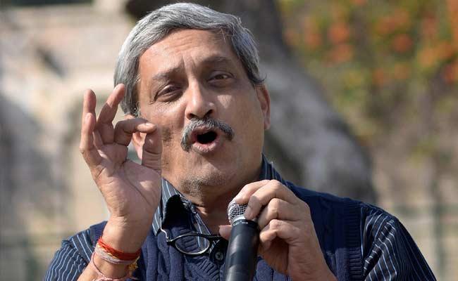 File Photo of Manohar Parrikar