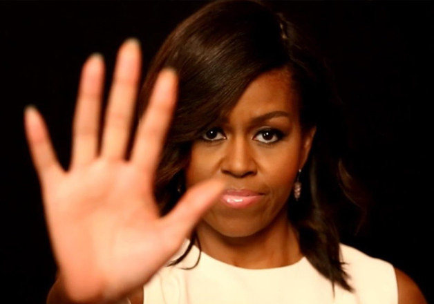 File pic - First Lady Michelle Obama