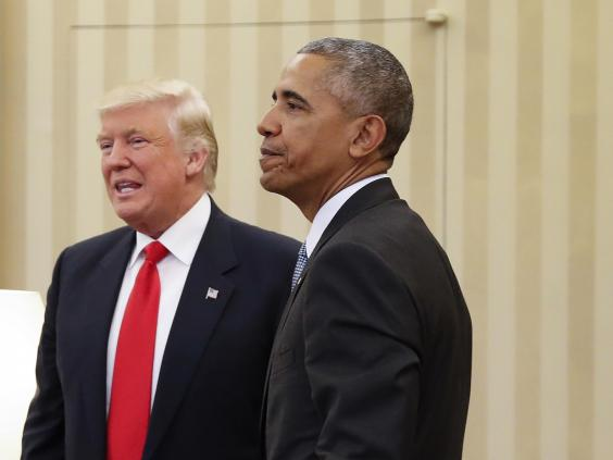 Barack Obama on Trump