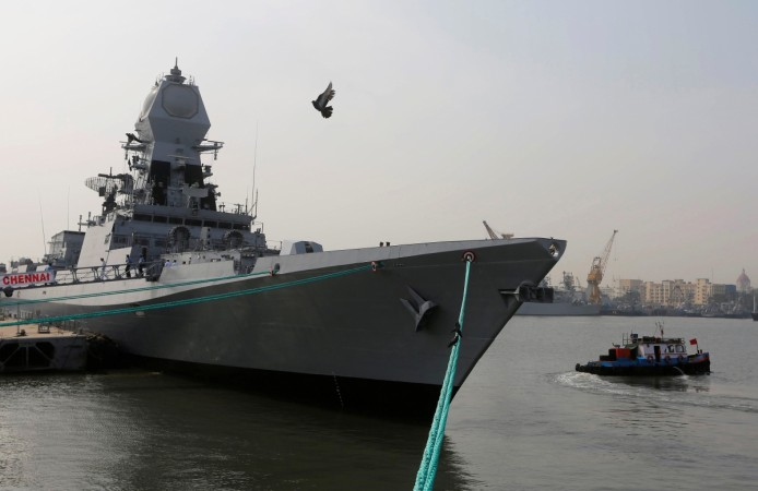 Defence Minister commissions INS Chennai