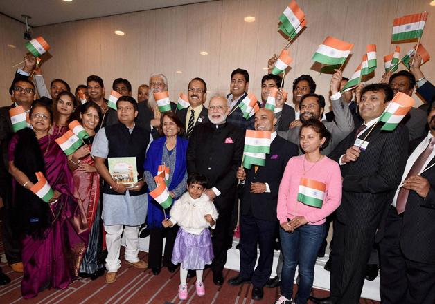 PM Modi meets Indian community members in Japan