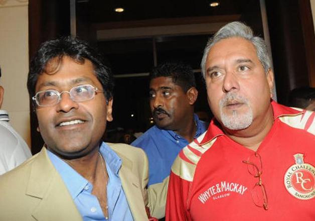File pic - Lalit Modi and Vijay Mallya