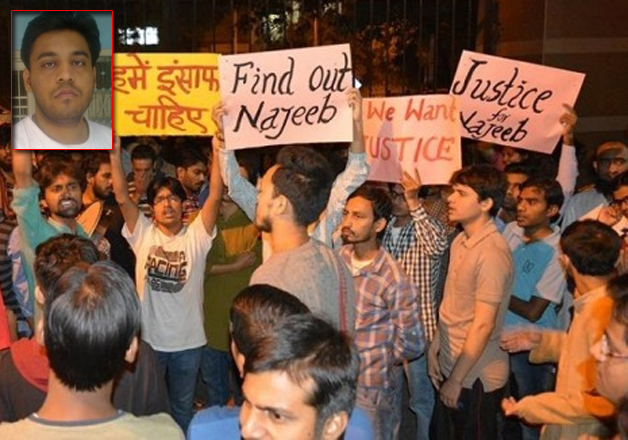 File pic - Missing JNU student in Aligarh, claims letter