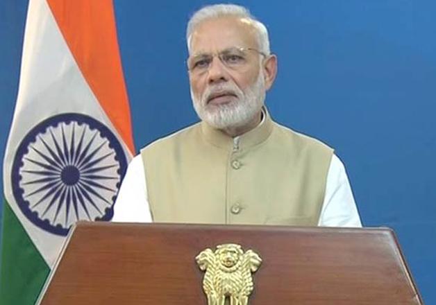 File pic - PM Narendra Modi addressing nation on Nov 8