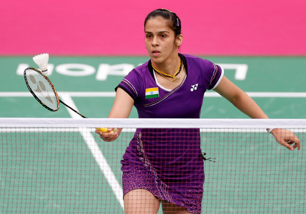 File pic - Indian shuttler Saina Nehwal