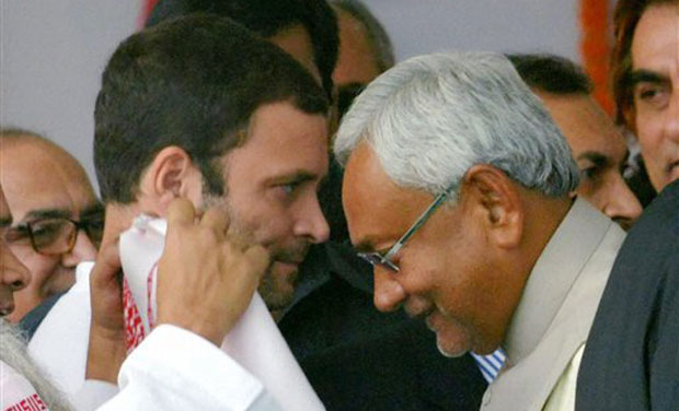 Congress sees Nitish Kumar's PM ambitions behind his
