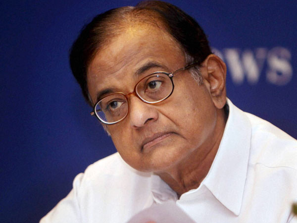 File Photo of P. Chidambaram