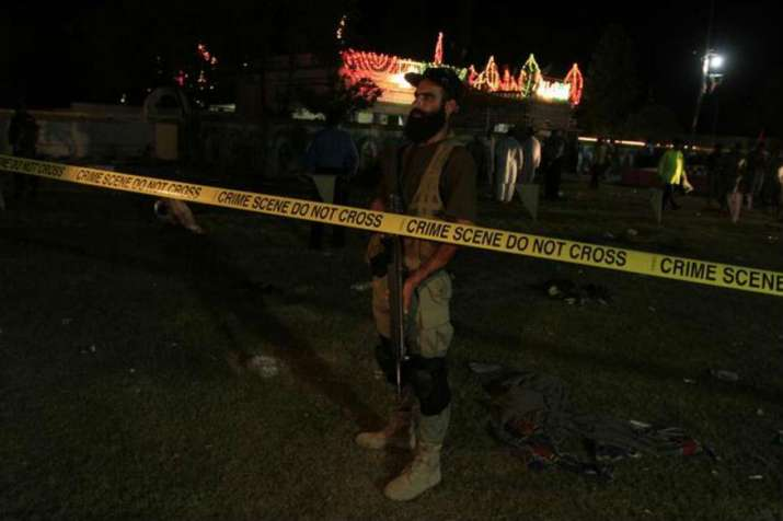 Fatal explosion rocks Pakistan's Shah Noorani Shrine