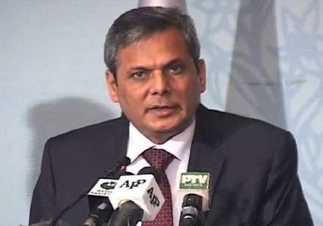 File pic of Pak Foreign Office spokesman Nafees Zakaria