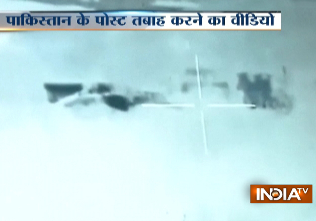 Watch: BSF releases video destroying Pakistani bunker