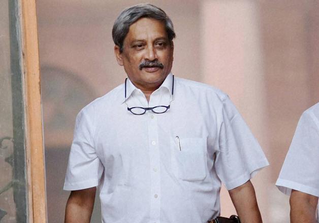 File pic - Defence Minister Manohar Parrikar