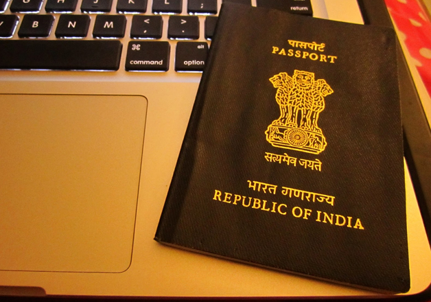 File pic - Passport of Republic of India