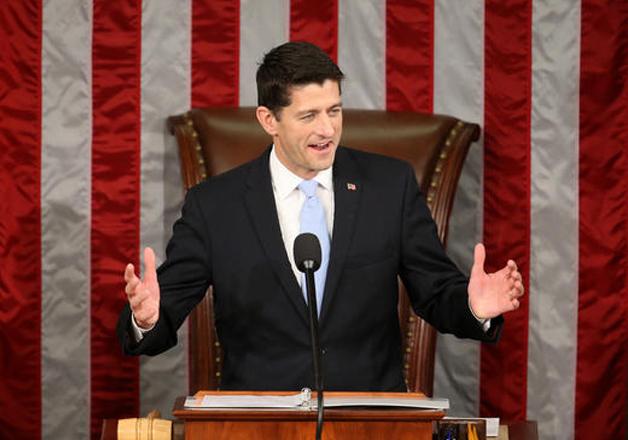 File pic of Speaker Paul Ryan