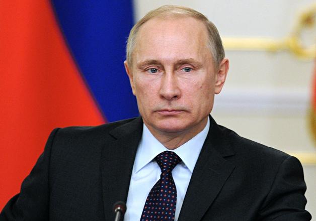 File pic - Russian President Vladimir Putin