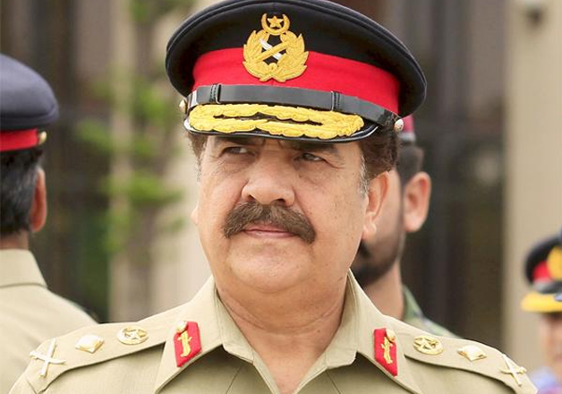 File pic of outgoing Pak Army Chief Raheel Sharif