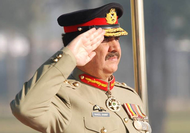 File pic - Raheel Sharif