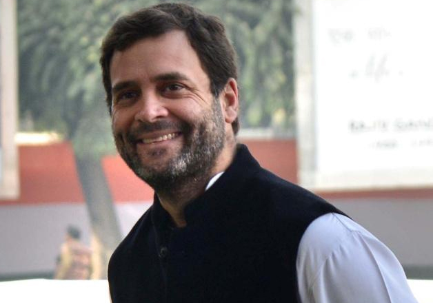 File photo - Congress vice president Rahul Gandhi outside