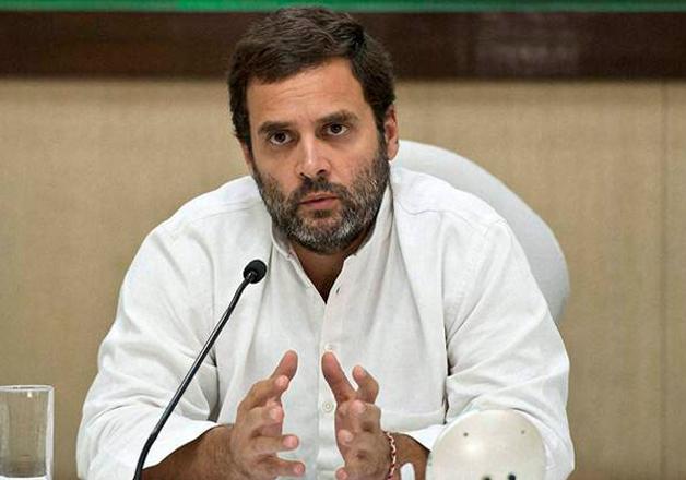 File pic - Congress vice-president Rahul Gandhi