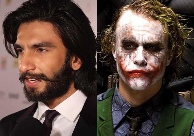 Ranveer Singh likens his Padmavati character to Heath