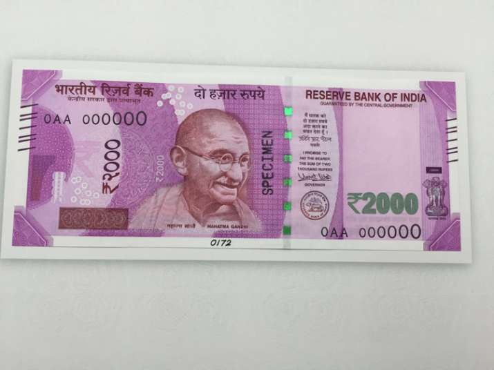 India Tv - New note of Rs 2000- Side 1