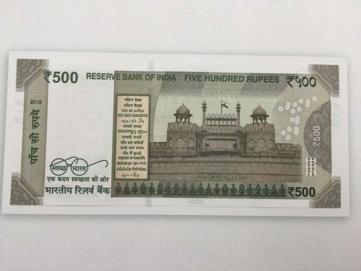 India Tv - New Rs 500 note- Side 2