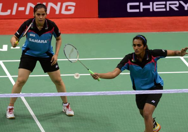 File pic - Saina Nehwal (left) and PV Sindhu.
