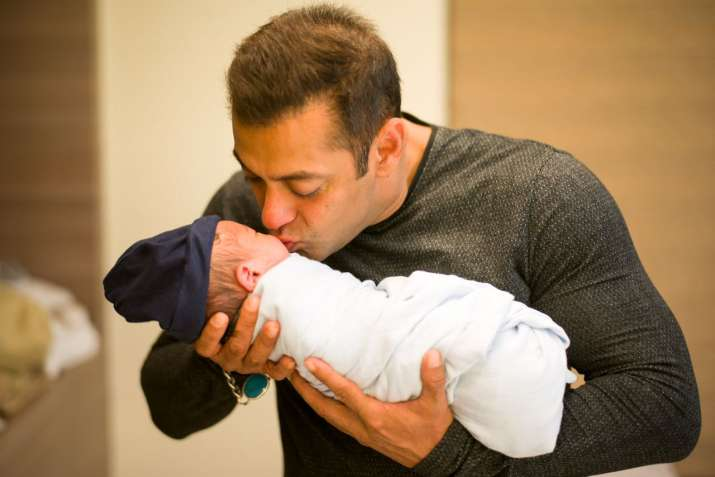 Featuring Salman Khan and kids