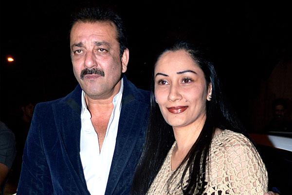Sanjay Dutt and Manaayata dutt
