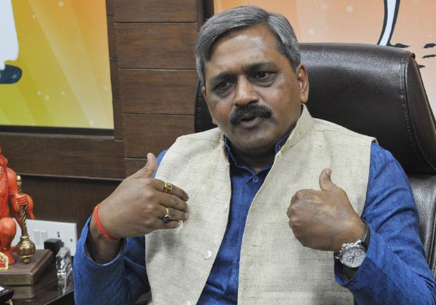 File pic - Delhi BJP Chief Satish Upadhyay