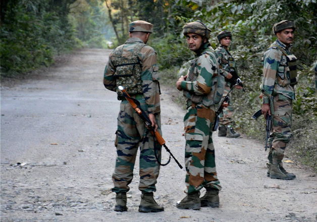 Terrorists gunned down in Kashmir