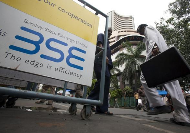 A file photo of BSE building in Mumbai