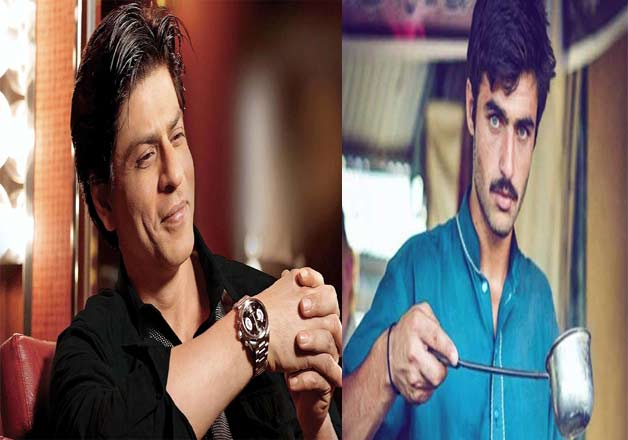 Shah Rukh Khan and Arshad Khan