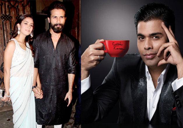 Shahid-Mira will appear on Koffee With Karan season 5