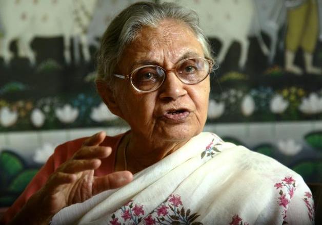 File photo- Former Delhi chief minister Sheila Dikshit