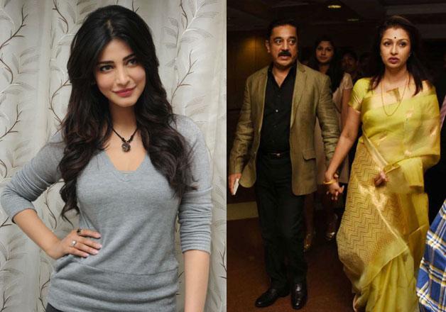 Is Shruti Haasan the reason behind father Kamal's split