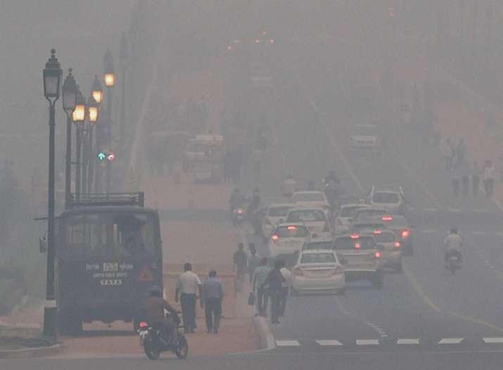 Smog, asthma, allergy, pollution, Delhi