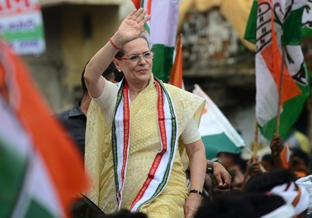 File pic - Congress president Sonia Gandhi during a