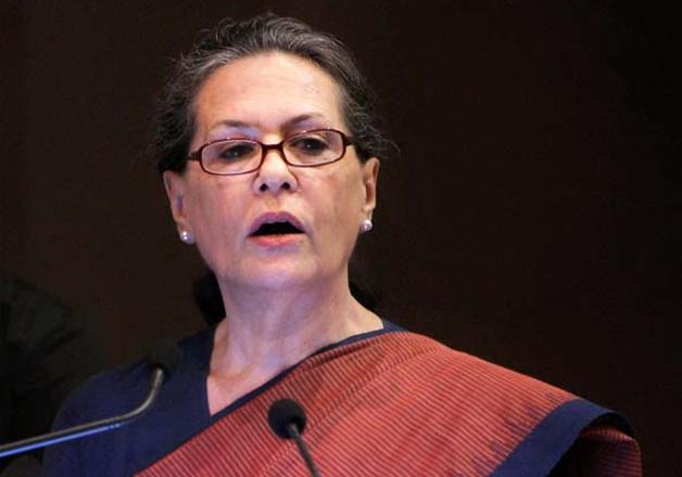 File pic - Congress president Sonia Gandhi