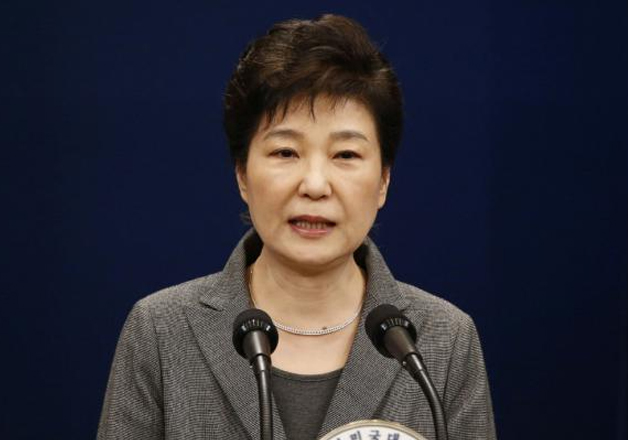 File pic - South Korean President Park Geun-hye