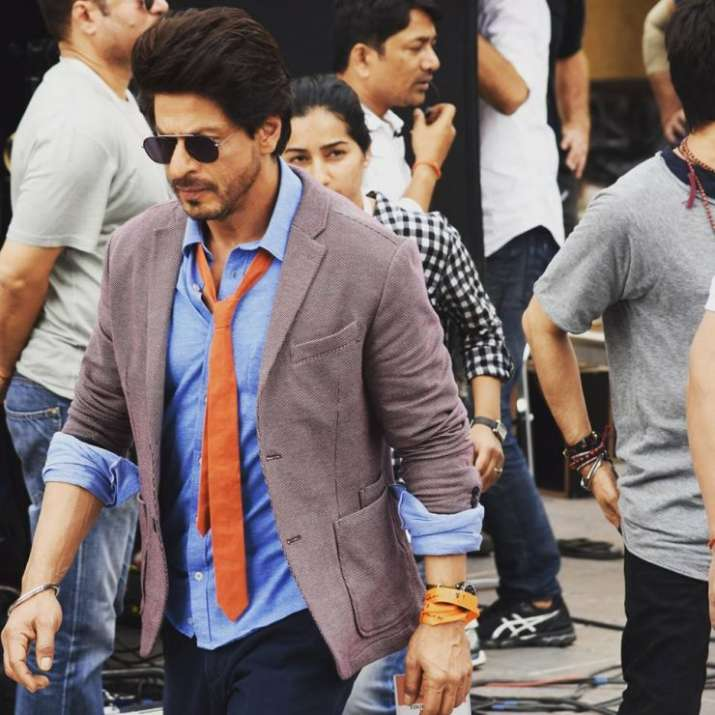 India Tv - Shah Rukh Khan on sets of 'The Ring'