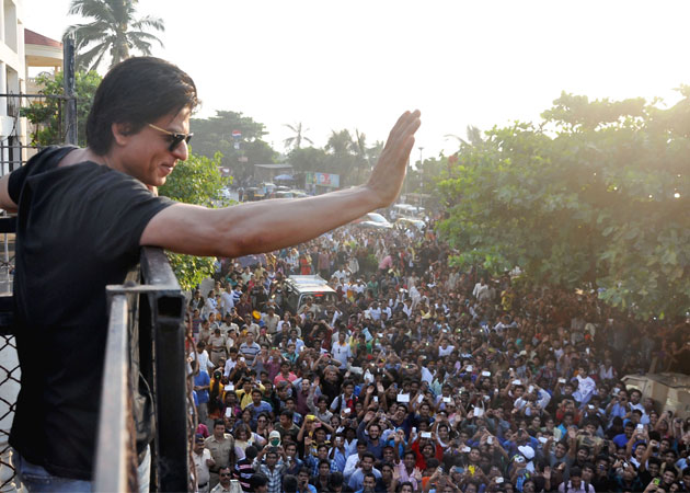 Shah Rukh gets candid about his stardom