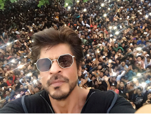 Shah Rukh Khan celebrates his 51st birthday with his fans